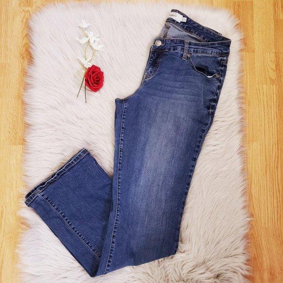 Torrid Bootcut Leg Denim Jeans Light Wash size 14